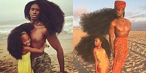 Paylaştıkları Müthiş Sevgi ve Saç Şekilleriyle İnternet Alemini Sallayan Baba-Kız