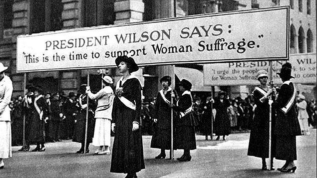 8. Kadına seçim hakkı