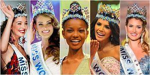 Güzeller Güzelini Seçiyoruz! Miss World Tacını Takmış 21. Yüzyılın En Güzel 16 Kadını