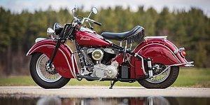 Шикарный раритетный мотоцикл 1947 года уйдет с торгов