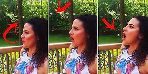 Hey Maşallah: Ağzıyla Sakıza Falso Veren Garip Kadın