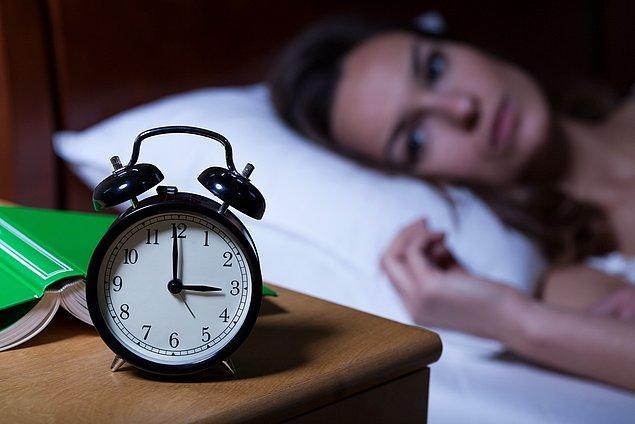 6. Başınızı yastığa koyar koymaz uykuya dalabilirsiniz