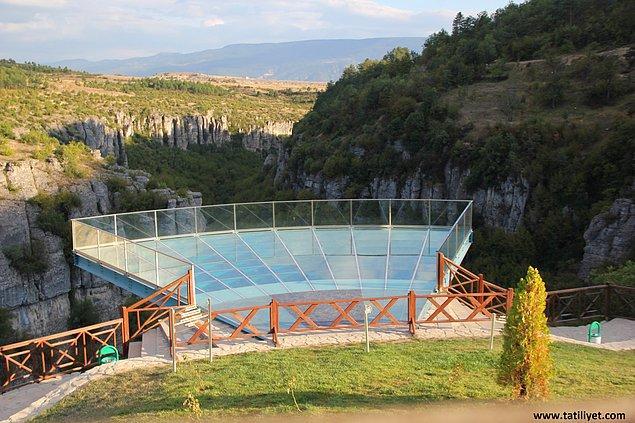 12. Seyir Terası (Kristal Teras), Tokatlı Kanyonu ve İncekaya Su Kemeri / Karabük