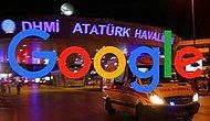 Atatürk Havalimanı'nda olan patlama için Google boş geçmedi