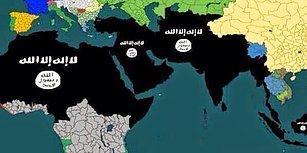 IŞİD 2. Yıl Duyurusunda Türkiye'yi de Hedefindeki Haritaya Aldı