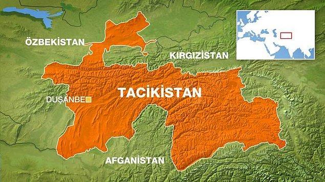9. Tacikistan