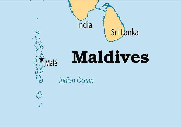 4. Maldivler