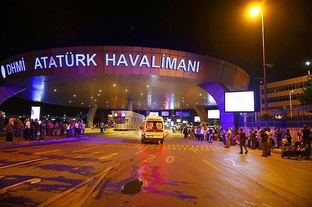 1- Atatürk Havalimanı Saldırısında Can Kaybı 44'e Yükseldi
