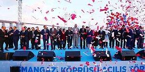 Osmangazi Köprüsü Törenle Açıldı