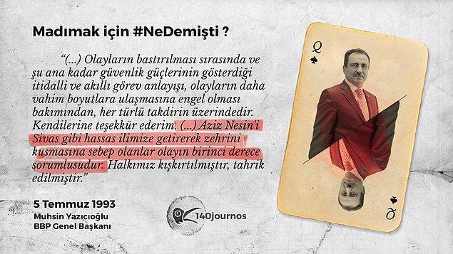 Muhsin Yazıcıoğlu - BBP Genel Başkanı