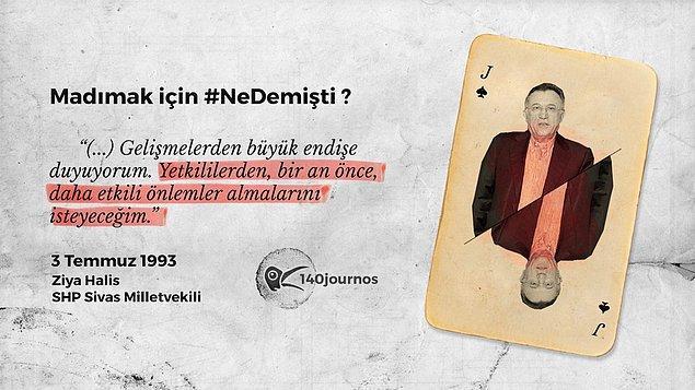 Ziya Halis - Dönemin SHP Sivas Milletvekili