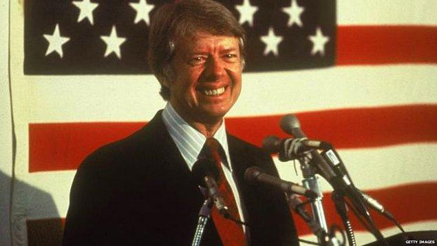 8. 13 yaşındaki kızından akıl alan başkan Jimmy Carter