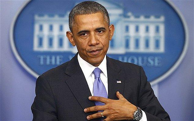 10. İlklerin başkanı Barack Obama