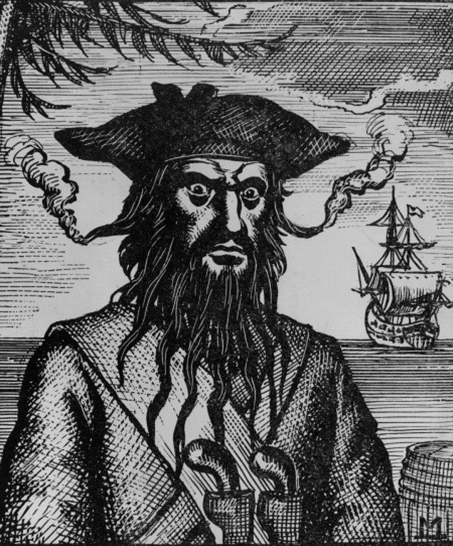 """2. Edward Teach """"Kara Sakal"""" (1680-1718)"""
