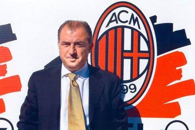 Galatasaray'la kazanılan UEFA Kupası'nın ardından önce İtalyan takımı Fiorentina sonra da dünyanın en büyük kulüplerinden Milan'ın başına geçmişti Terim.