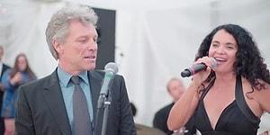 Джон Бон Джови спел на свадьбе!