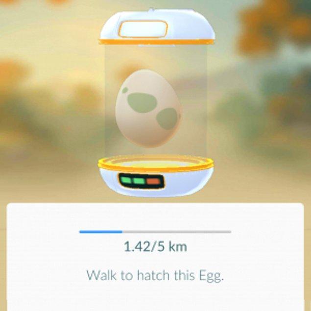 Yumurtalar farklı mesafelerin yürünmesini gerektirebilir ve bu mesafelerin miktarı da onların ne kadar nadir ya da sık rastlanan türden olduklarını anlatıyor.