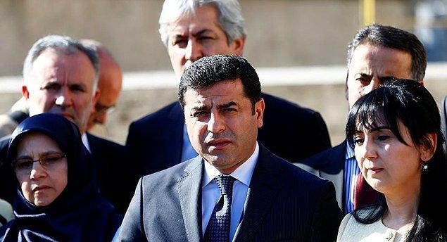 HDP ifadeye gitmeyeceğini açıklamıştı