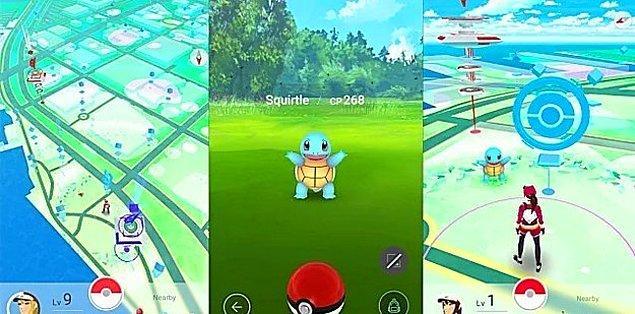 Pokemonları kendi doğal alanlarında bulmak daha mümkün.