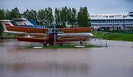 Belarus'u Sağnak Yağış ve Fırtına Esir Aldı