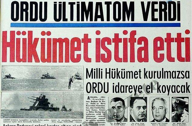 12 Mart 1971 Muhtırası