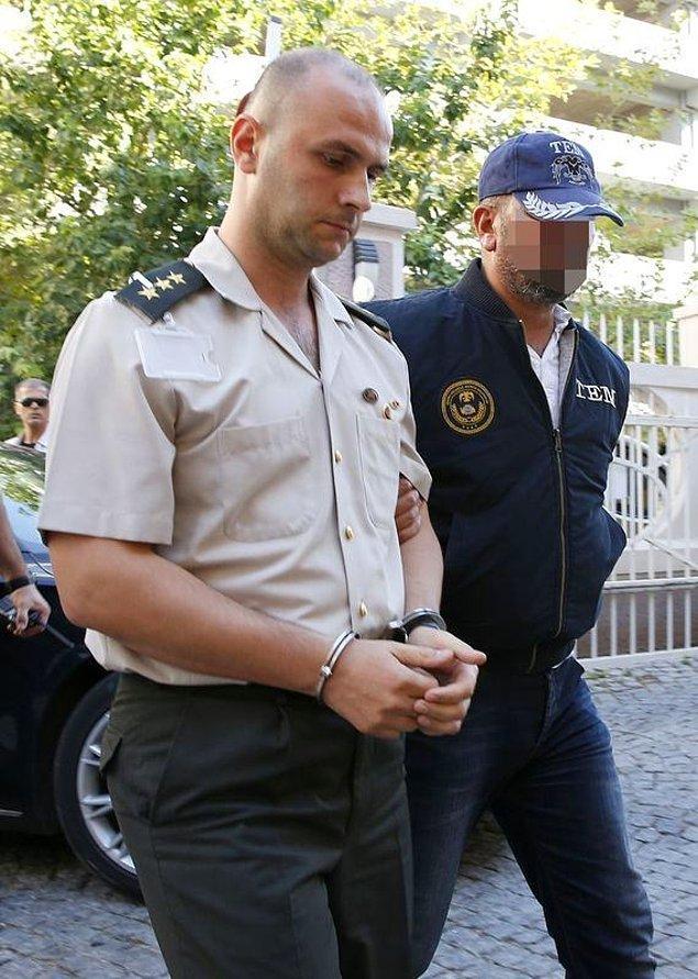 Ege Ordu Komutanlığı Yüzbaşı Emir Birgül