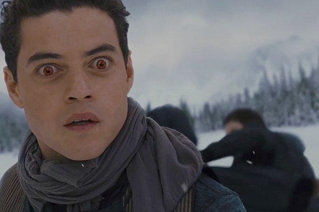 """""""Alacakaranlık Efsanesi""""nde de Mısırlı bir vampiri oynamıştı."""