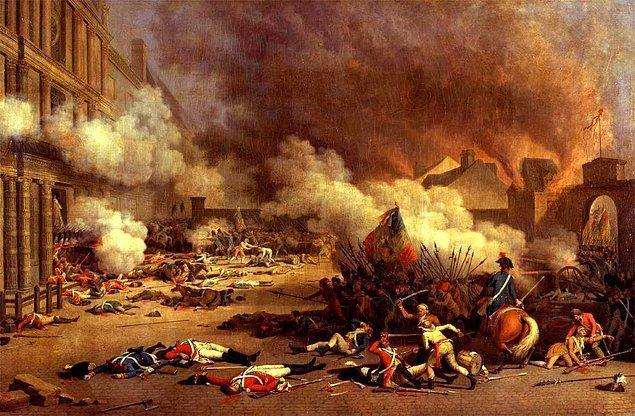 25. Fransız İhtilali kaç yılında gerçekleşmiştir?