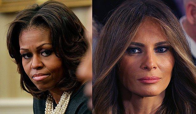 """Michelle Obama: """"Barack ve ben aynı değerlerle büyütüldük: İstediğin şeyler için çok çalışmak, söylediğini yapmak ve sözünü tutmak, insanlara saygılı ve onurlu davranmak; onları tanımıyor ve onlarla farklı fikirlerde olsanız bile."""""""