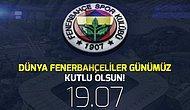Sarı Lacivertliler, Dünya Fenerbahçeliler Günü'nü Kutladı