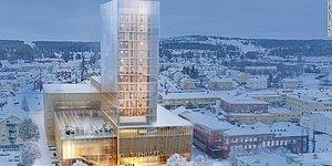 Новый тренд мировой архитектуры: деревянные небоскребы