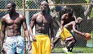 Basketbol Yetenekleri de Parmak Isırtıyor: Pogba'dan Lukaku'ya Muhteşem Blok!