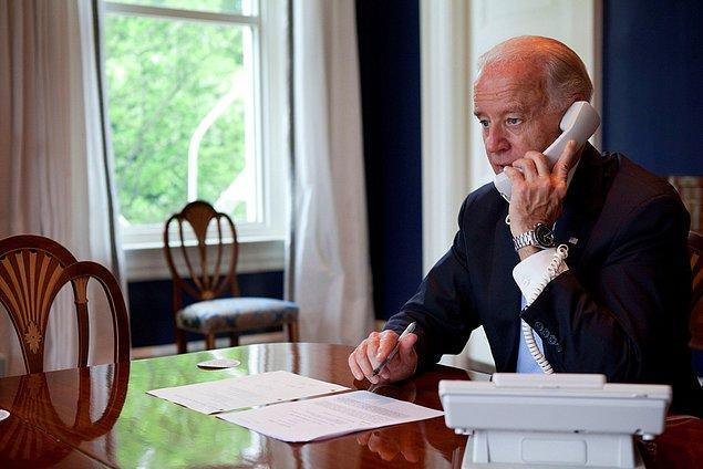 ABD Başkan Yardımcısı Biden'dan Yıldırım'a telefon