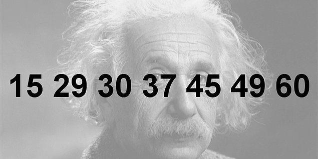 7. Görseldeki sayılar iki gruba ayrılırsa az olandan kaç tane olur? ( Tek ve çift olarak ayırmayınız, bir sayıya bölünme kuralıyla ayırmayınız )