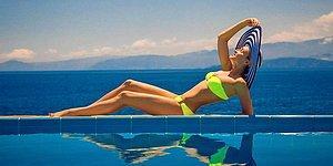 Лето в разгаре: отечественные и зарубежные звезды в купальниках
