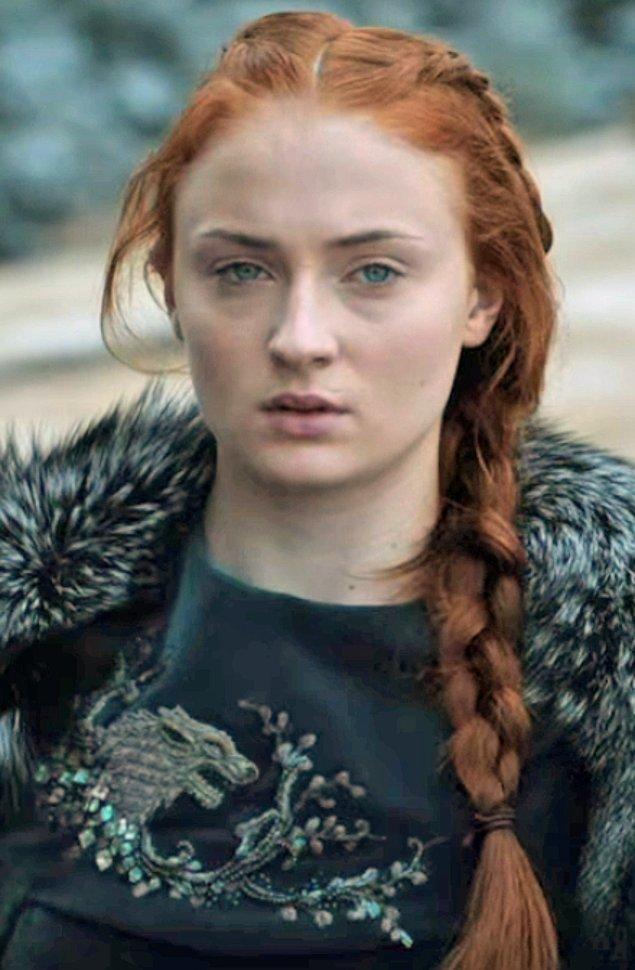 36. Sansa Stark - Sophie Turner