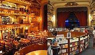 100 Yıllık Tiyatro Binası Artık Görkemli Bir Kitapçıya Ev Sahipliği Yapıyor