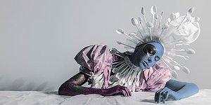 Переработка отходов в искусство: проект русского фотографа и визажиста
