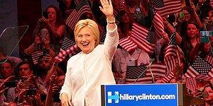 ABD Tarihinde Bir İlk: Hillary Clinton ABD'nin İlk Kadın Başkan Adayı