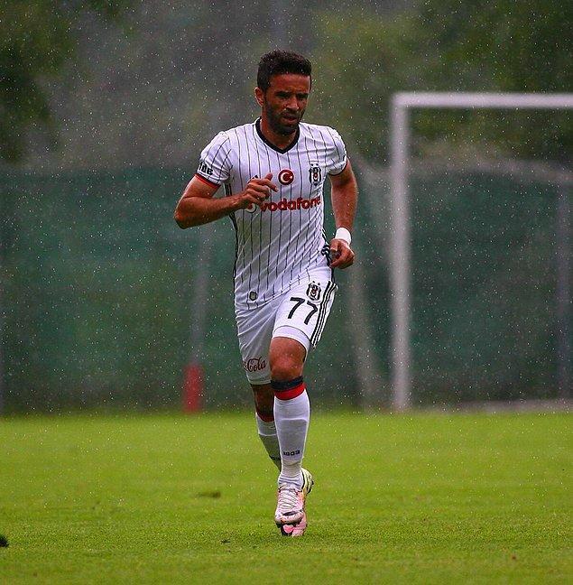 Gökhan Gönül, Beşiktaş formasıyla ilk maçına çıktı
