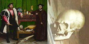 16. Yüzyıldan Kalma Tablonun İçine Gizlenen Kuru Kafa İllüzyonu