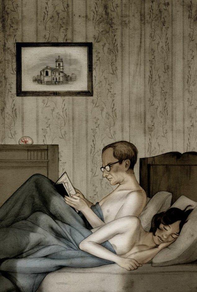 11. Orwell'in kitaptaki Julia karakterini geliştirirken, ikinci eşi Sonia Brownell'i model aldığı düşünülüyor.