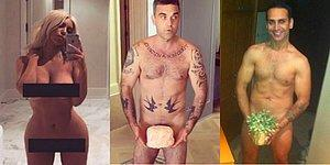 Kim Kardashian'a Benzeyeyim Derken Doğuş Olmaktan Kurtulamayan Ünlü İsim: Robbie Williams