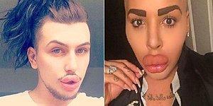 Kim Kardashian'a Benzeyeceğiz Diye Tövbe Bismillah Bir Şeylere Benzeyen İki Çılgın