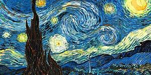 """Van Gogh'un """"Yıldızlı Gece"""" Tablosundaki İnanılmaz Bilimsel Gizem Çözüldü!"""