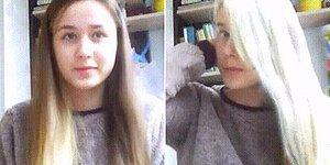 Hayaldi Gerçek Oldu: Keyfine Göre Saç Rengini Değiştirerek İnterneti Ayağa Kaldıran Kadın
