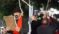 Protesto Ederken Ölümden Dönen Adam ve Ağzında Sigara ile Onu Kurtaran Sayko Adam