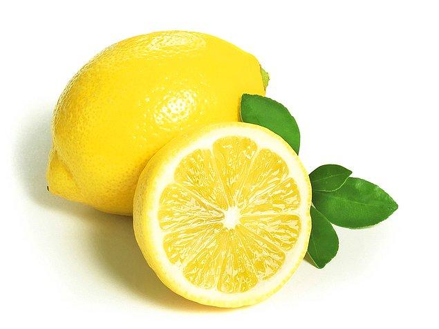 2. Limon.... Hemen ağzınız sulandı, suratınız ekşidi mi?