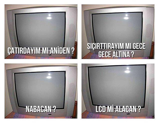 1. Çatırdayan televizyon