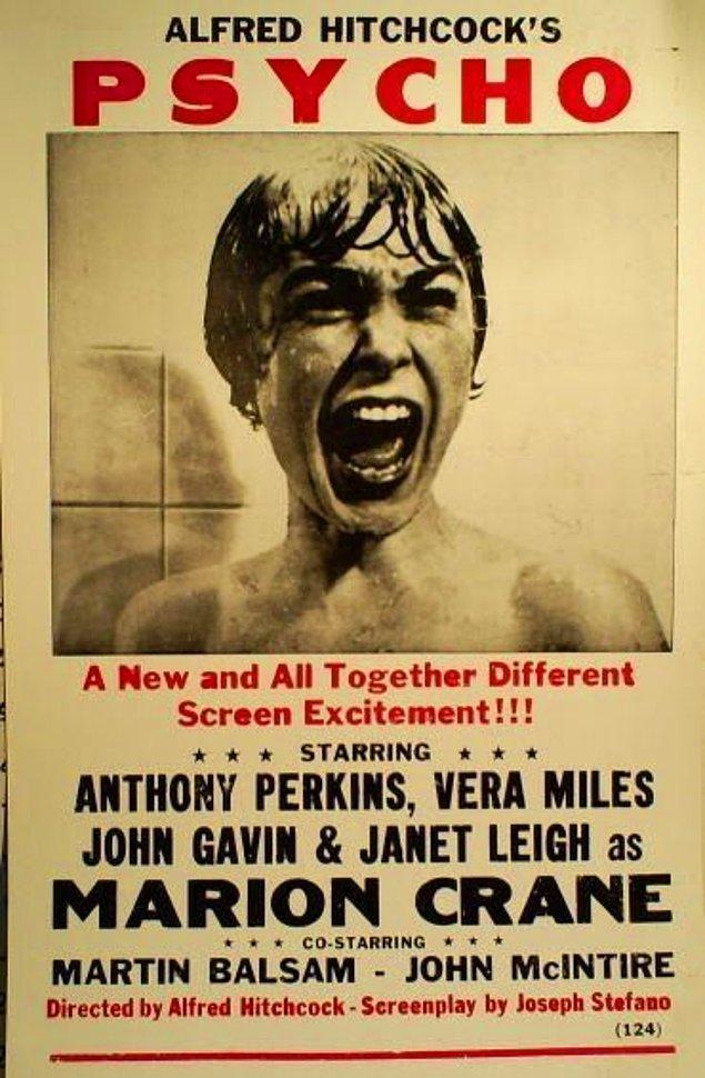4. Psycho (Sapık), 1960